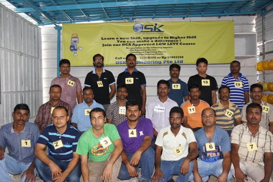 Gas Practical Training Class 1