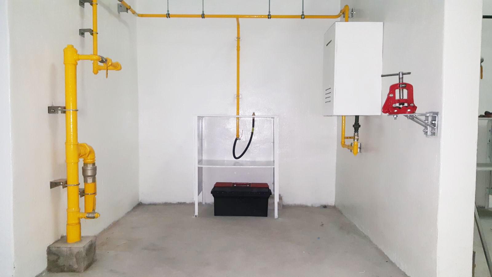 Training Facilities (Interior Gas Pipefittings)